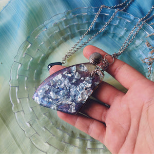 Icicle - Statement Pendant Necklace