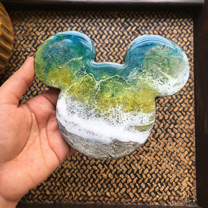 Lush Mickey - Coaster/Magnet (Set of 1)