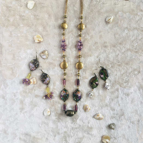 Wispy Wisteria - Necklace, Vintage Archives Collection