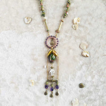 Load image into Gallery viewer, Amethyst Alchemy - Statement Necklace, Vintage Archives Collection