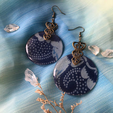 Load image into Gallery viewer, Harvest 1 - Plum & Cherry Earring Collection