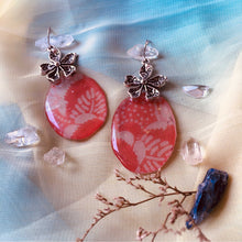 Load image into Gallery viewer, Harvest 6 - Plum & Cherry Earring Collection
