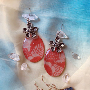 Harvest 6 - Plum & Cherry Earring Collection