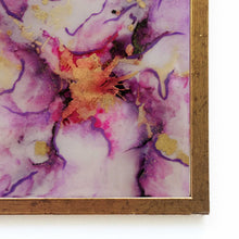 Load image into Gallery viewer, Periwinkle - Original Handpainted Ceramic Wallart