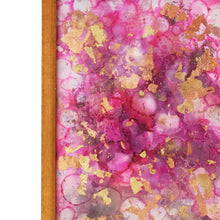 Load image into Gallery viewer, Pink Sorbet - Original Handpainted Framed Wallart (With metal leafing)