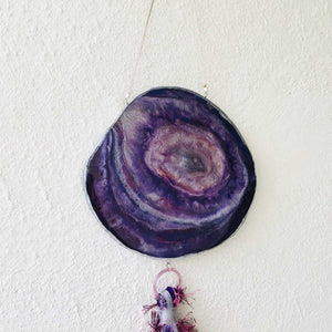 Grape Juice - Wall Hanging (With Semi precious Beads)