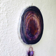 Load image into Gallery viewer, Grape Juice - Wall Hanging (With Semi precious Beads)