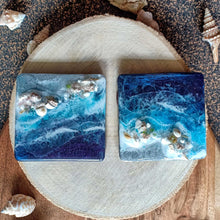 Load image into Gallery viewer, Silver Shores - 3D Beach Magnets