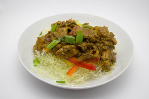 Curry Chicken with Kelp Noodles
