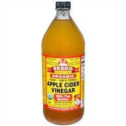 Bragg - Apple Cider Vinegar - Raw Unfiltered Organic - 32 oz - Low Carb Canada