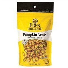 Eden Organic - Pumpkin Seeds - Dry Roasted - 4 oz Bag - Low Carb Canada