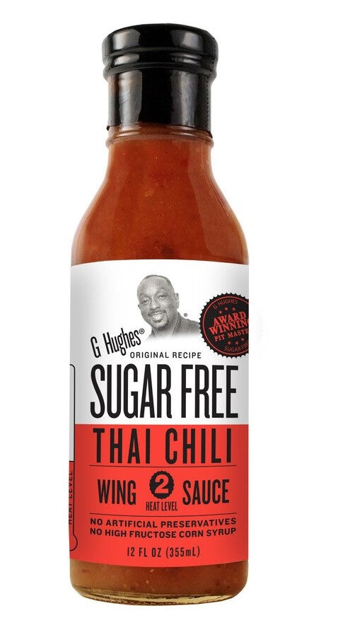 G Hughes Wing Sauce - Sugar Free Thai Chili - 12 oz