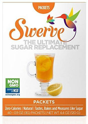 Swerve - All Natural Sweetener - 40 Packets
