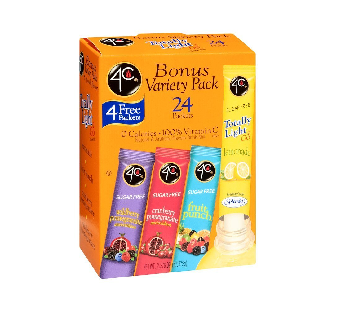 4C Variety Pack Drink Mix - 24 Packets