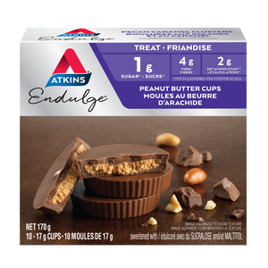 Atkins Endulge Treat - Peanut Butter Cups - 10 Cups