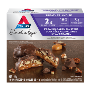 Atkins Endulge Treat - Pecan Caramel Clusters - 10 Pieces