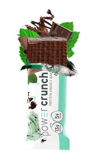 Power Crunch - Protein Energy Bar - Chocolate Mint