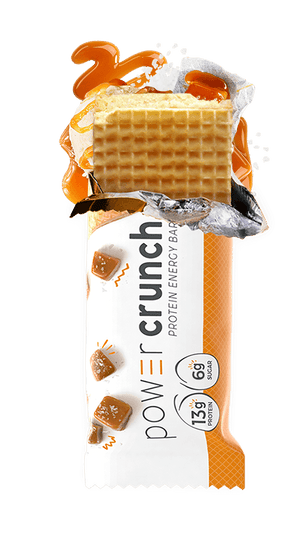 Power Crunch - Protein Energy Bar - Salted Caramel