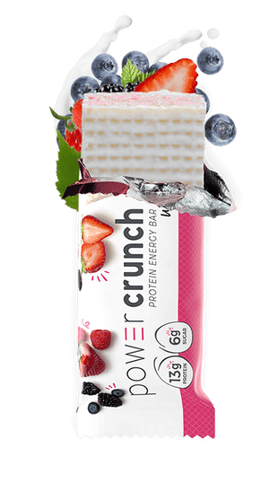 Power Crunch - Protein Energy Bar - Wild Berry Creme
