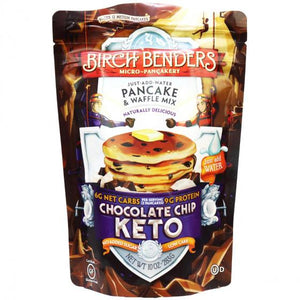 Birch Benders - Keto Pancake & Waffle Mix - Chocolate Chip - 10 oz