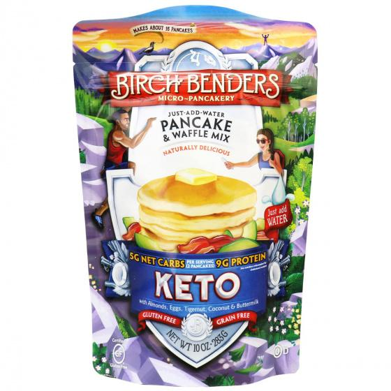 Birch Benders - Keto Pancake & Waffle Mix - Original - 10 oz