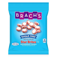 Brachs - Sugar Free Candy - Peppermint Star Brites Mints - 3.5 oz