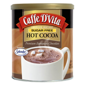 Caffe DVita Sugar Free Hot Cocoa - 10 oz Can