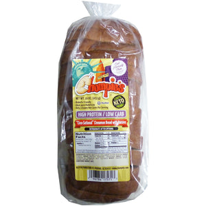 Chompies - Low Carb High Protein Bread - Cinnamon with Raisins - 16 oz bag