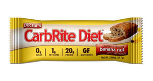 Doctor's CarbRite Diet Bar - Banana Nuts with Almonds