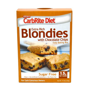 Doctor's CarbRite Diet - Extra Rich Blondies Baking Mix with Chocolate Chips