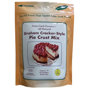 Dixie - Pie Crust - Graham Cracker-Style Crust Mix