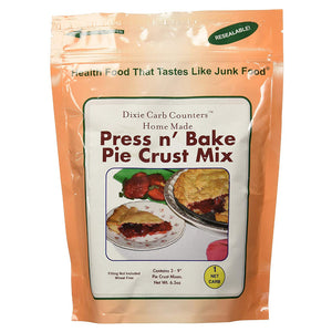 Dixie - Pie Crust - Press n' Bake Crust Mix