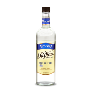 DaVinci - Sugar Free Syrup - Almond - 25.4 fl oz Bottle