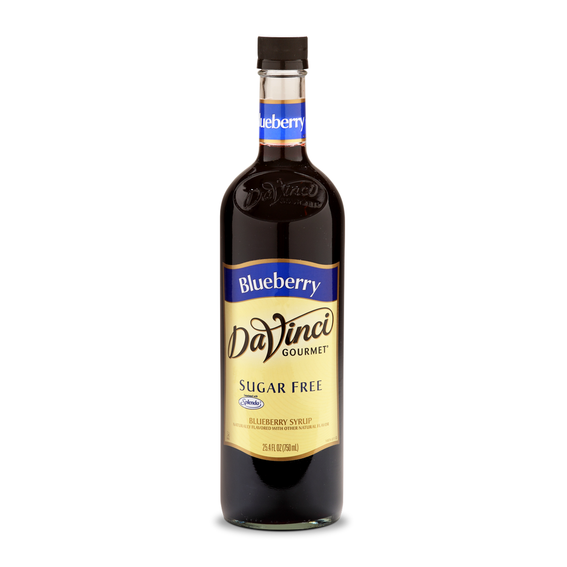DaVinci - Sugar Free Syrup - Blueberry - 25.4 fl oz Bottle