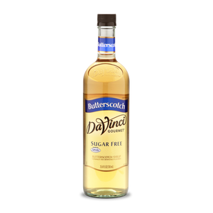 DaVinci - Sugar Free Syrup - Butterscotch Caramel - 25.4 fl oz Bottle
