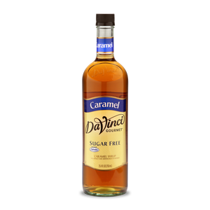 DaVinci - Sugar Free Syrup - Caramel - 25.4 fl oz Bottle