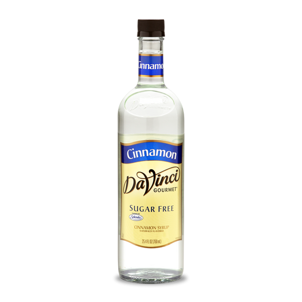 DaVinci - Sugar Free Syrup - Cinnamon - 25.4 fl oz Bottle