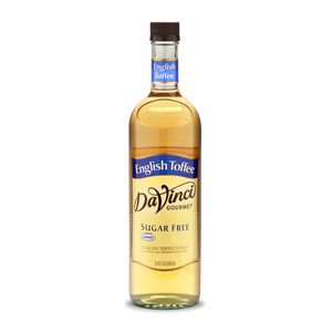 DaVinci - Sugar Free Syrup - English Toffee - 25.4 fl oz Bottle