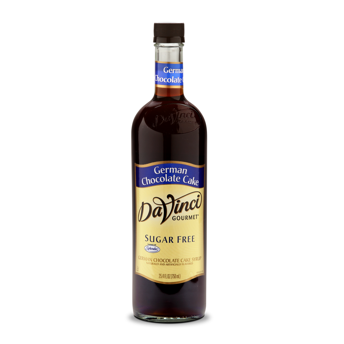 DaVinci - Sugar Free Syrup - German Chocolate Cake - 25.4 fl oz Bottle