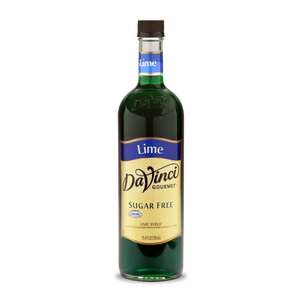 DaVinci - Sugar Free Syrup - Lime - 25.4 fl oz Bottle