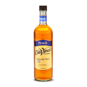 DaVinci - Sugar Free Syrup - Peach - 25.4 fl oz Bottle