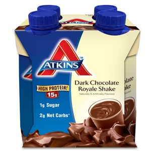 Atkins Shakes - Dark Chocolate Royale - 4 Pk