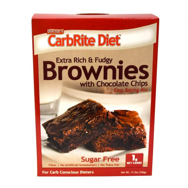 Doctor's CarbRite Diet - Chocolate Chip Brownie Mix - 11.5 oz box