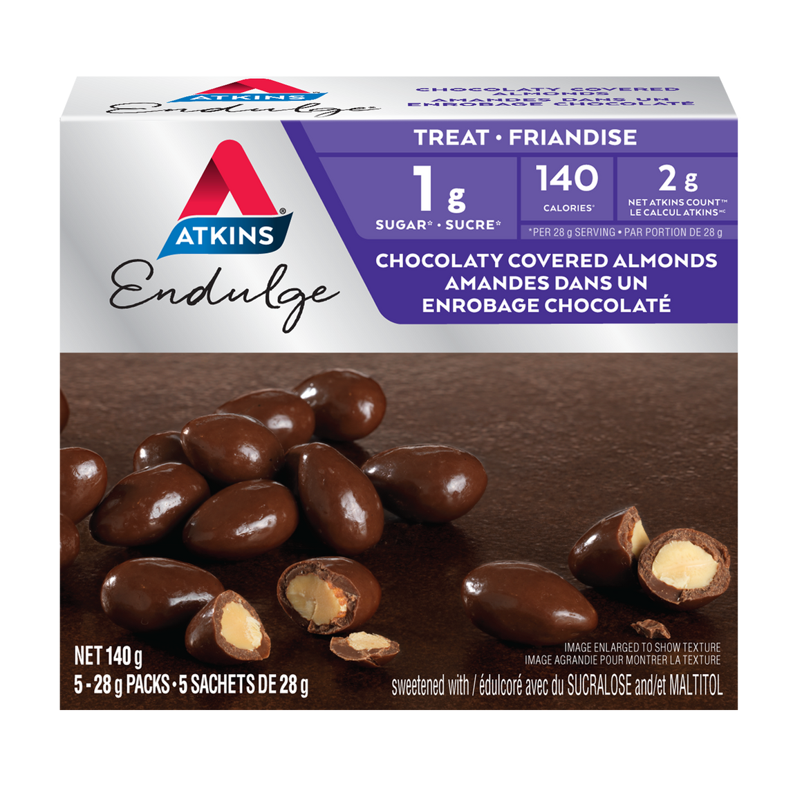 Atkins Endulge Treat - Chocolate Covered Almonds - 5 oz.