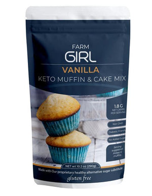 Farm Girl - Vanilla Keto Muffin & Cake Mix - 12.32 oz.