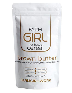 Farm Girl Nut Based Cereal - Brown Butter - 10.60 oz.