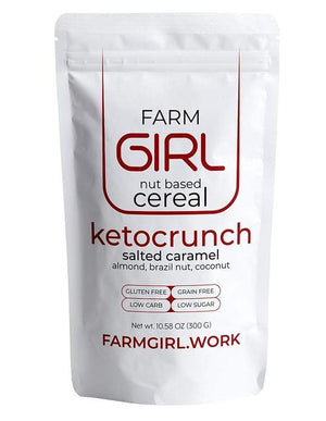 Farm Girl Nut Based Cereal - ketocrunch - Salted caramel 10.60 oz.