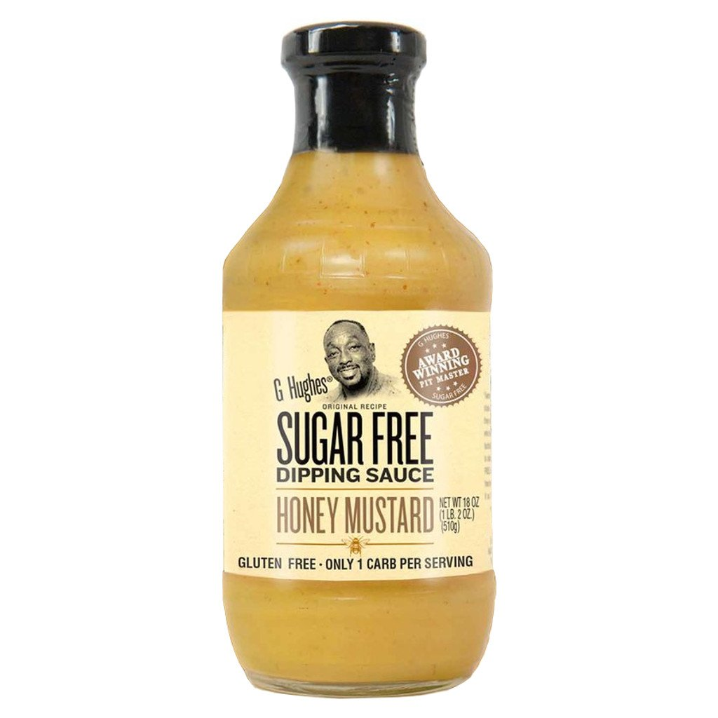 G Hughes Smokehouse - Sugar Free Honey Mustard Dipping Sauce - 18 oz.