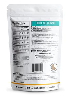 Good Dee's - Low Carb Baking Mix - Chocolate Brownie - 7.5 oz