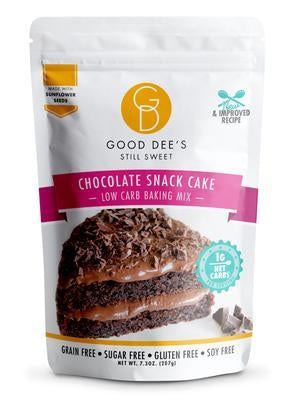 Good Dee's - Low Carb Baking Mix - Chocolate Snack Cake - 7.3 oz